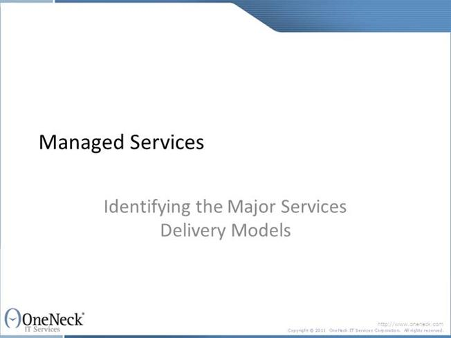 three major models of service delivery Major forms, integration by geographical location (involving regional planning   in essence there are three main sets of arguments for improved integration:   holistic or an integrated approach to human service delivery is argued by its.