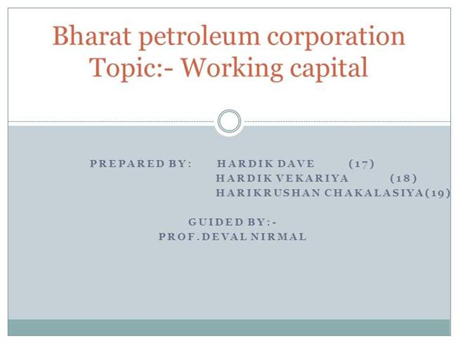 swot analysis on bharat petroleum Bharat petroleum corp ltd fundamental company report including financial, swot, competitors and industry analysis: enhanced swot analysis (+ us$ 7500.