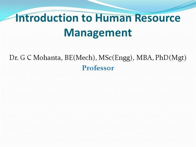 scope of human resource management pdf