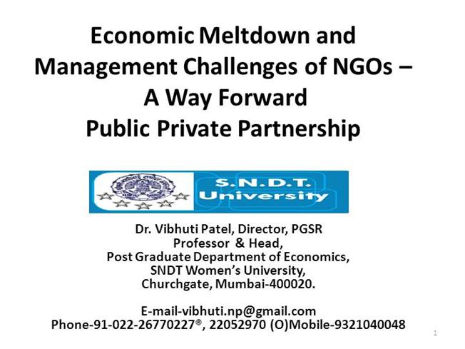 management challenges to ngos Ngos are typically value-based organizations  but they may be less receptive to challenges from labor organizations or environmental groups for minimum labor and.