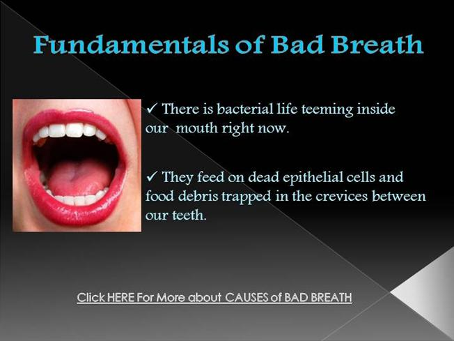 essay speech halitosis bad breath Displaying and offensively condesending mannor, treating someone as if they were lower than you.