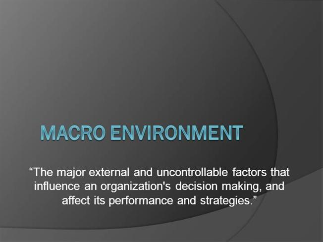 macro environment affecting toyota Toyota: external environment analysis assignment external environment the policies of the government and earnings of the bank also affect the macro.