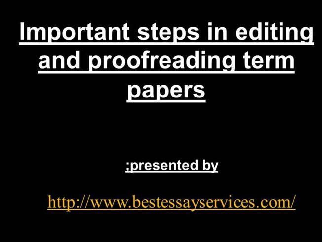 steps to proofreading an essay How to proofread an essay academic skills center room 1501 shoreline community college proofreading is the final step of the writing process completed only after the larger concerns of focus, development, organization, and coherence have been satisfied we proofread to find grammar, spelling, and punctuation.