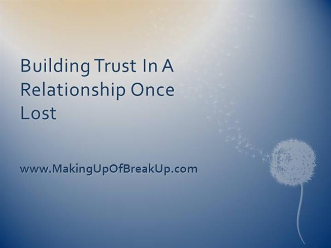 trust in a relationship essay For trust to be warranted (ie plausible) in a relationship, the parties to that relationship must have attitudes toward one another that permit trust moreover, for trust to be warranted (ie well-grounded), both parties must be trustworthy.