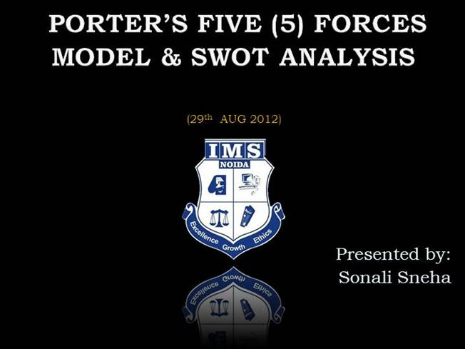 Porter 5 forces model authorstream for Porter 5 forces pdf
