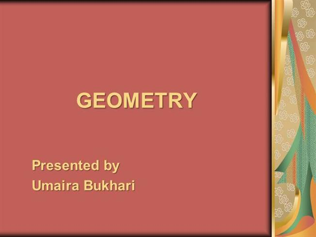 geometry ppt authorstream