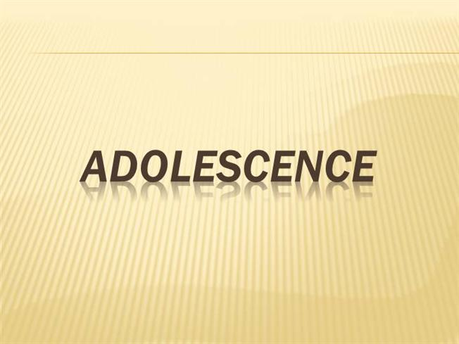 adolescence is the period essay