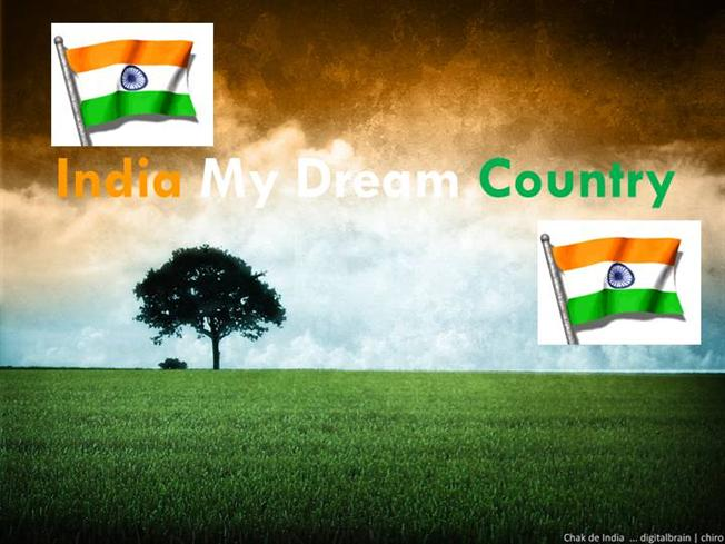 my dream of green india Slogan on india of my dreams we also have slogan on india of my dreams quotes and sayings related to slogan on india of my dreams.