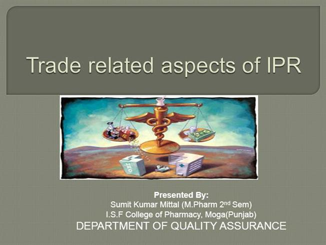 Trade-Related Aspects ...