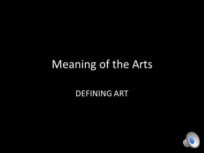 defining art Defining art in instructions for travellers: the agency of the questionnaire de  sociologie et d'ethnographie drafted by the paris anthropological society in  1883.