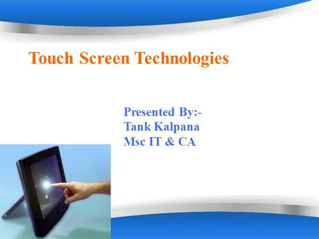 touch screen technology Learn how touch screens use electrical fields to sense wherever you tap, swipe,  and pinch.