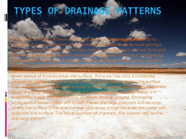 Types of drainage patterns dhananjay manthanwar for Types of drainage system pdf
