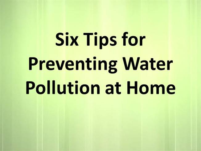 How Can We Reduce Water Pollution
