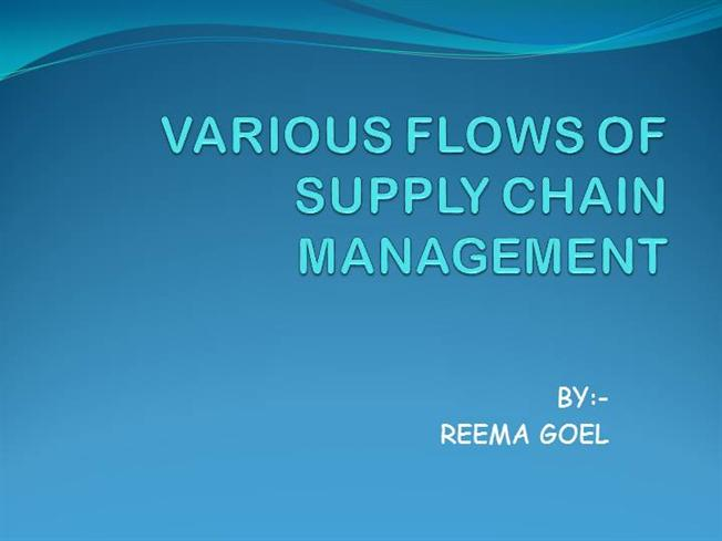 supply chain flows amazon Each stage in a supply chain is connected through the flow of products, information, and funds these flows often occur in both directions and are usually managed by one of the stages.