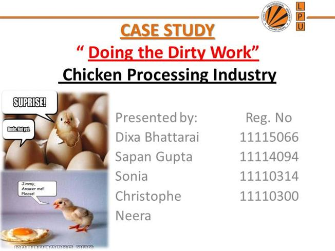 case study doing the dirty work Find articles for research paper (hrm doing the dirty work case study) three essays, a billion math assignments, one book and a research paper.
