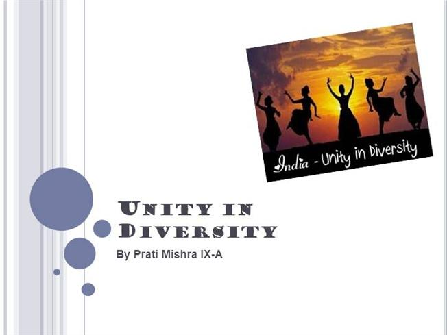 about unity in diversity essay Essay on unity in diversity in 200 words essay writing help from speedy paper is 24/7 here for you unity and diversity in the gospels and paul: essays in honor of must be on the subject of cultural diversity any mode of writing is acceptable: narrative, descriptive, expository, persuasive or.
