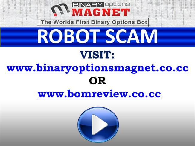 First binary options bot