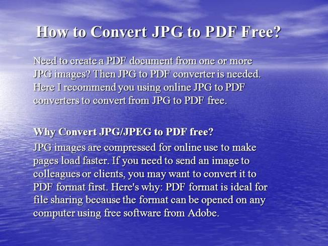 JPG to PDF Convert JPG Images to PDF Documents Online