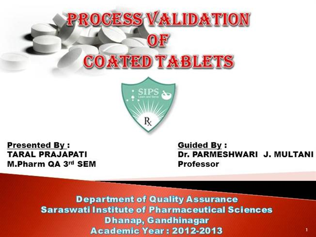 thesis process validation