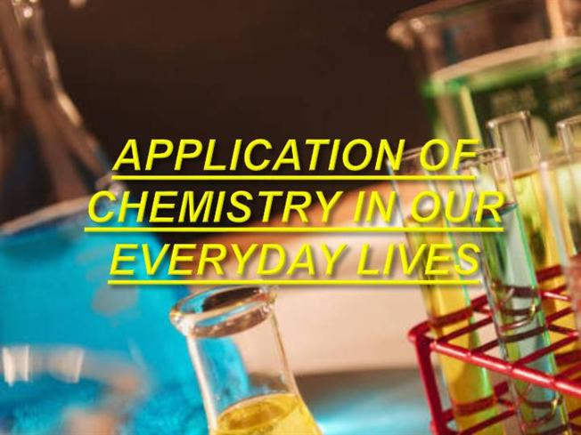 chemistry in our dailylife essay Chemistry is a big part of your everyday life - chemistry in our daily life introduction you find chemistry in daily life in the foods you eat, the air you breathe, your soap, your emotions and literally every object you can see or touch.