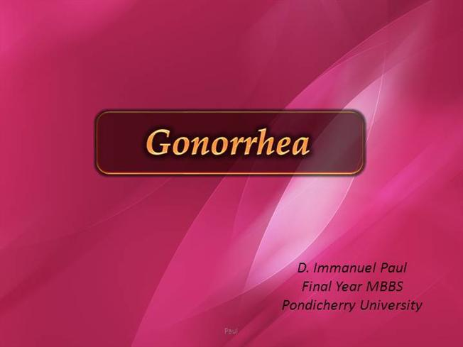 Pathophysiology Of Gonorrhea Diagram Gonorrhea and non gonococcal