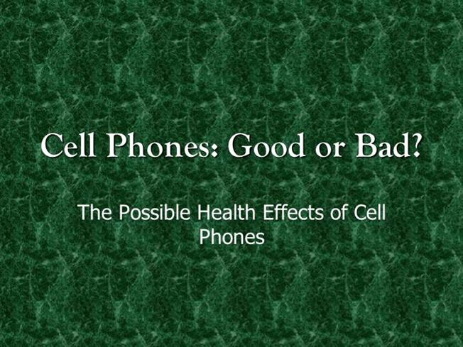 good and bad effect of cell phone Home essays the effect of cell phones the effect of cell phones innovations in society inevitably change us either for good or bad.