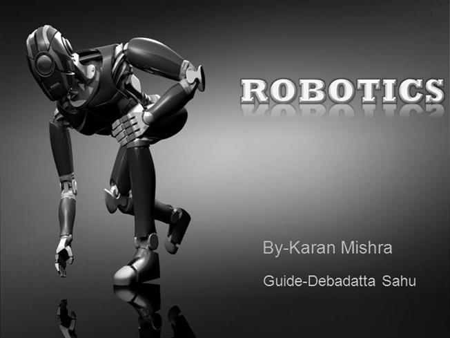 Robotics |authorSTREAM