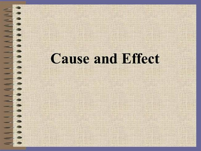 what makes a good cause and effect essays