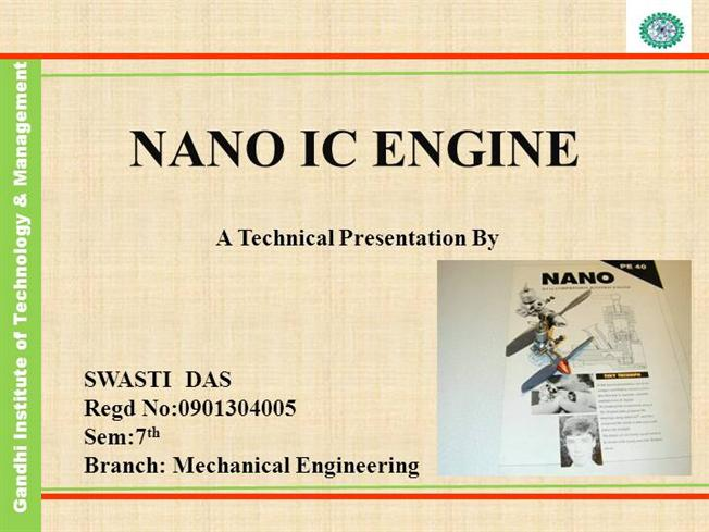 nano ic engines Get expert answers to your questions in nanotechnology, combustion, engines and internal combustion engines and more on researchgate, the professional network for.
