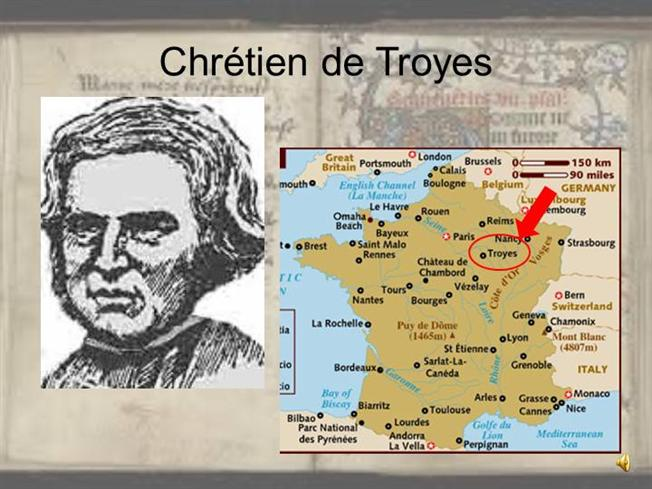 chretien de troyes use of figurative Erec and enide (french: Érec et Énide) is the first of chrétien de troyes' five romance poems, completed around 1170 it is one of three completed works by the author.