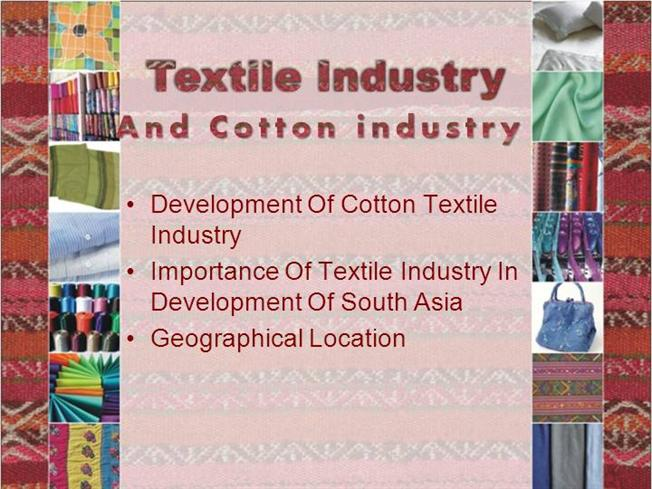 Cotton Textile Manufacturers - DriverLayer Search Engine