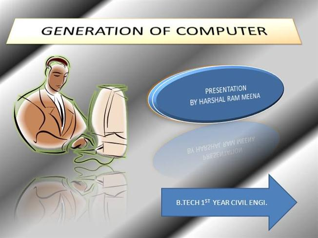 Generations of Computers Generation of Computer