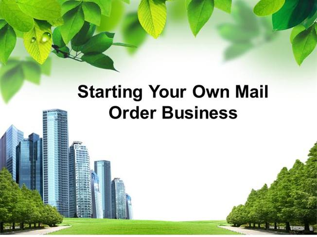 mail ordering business