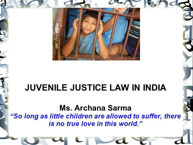 New Juvenile Justice Act to come into force from today