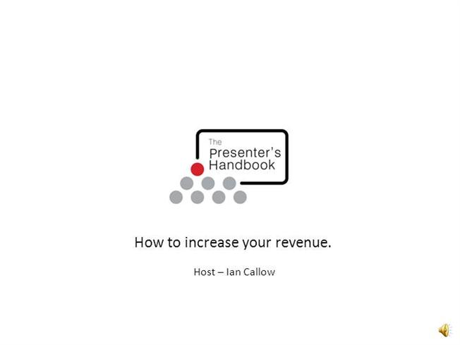 Increase Your Revenue - Pitch Success Ppt Presentation