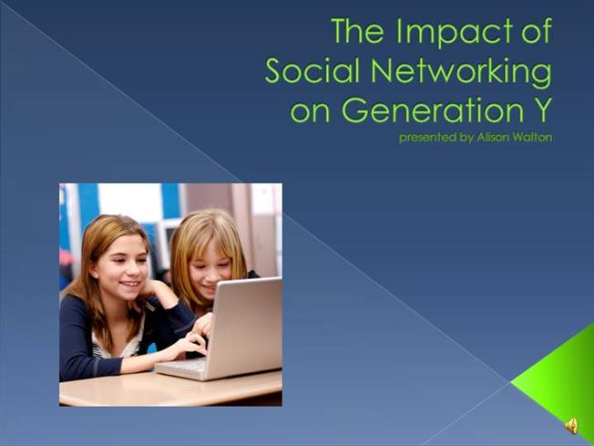 impact of social networking websites on Because of their features, young people are attracted to social networking sites  in this paper, the authors explore the impact of social networking sites on the.