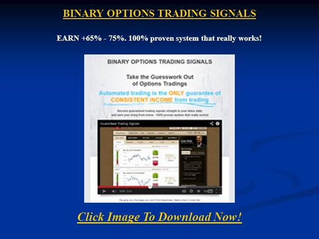 Guaranteed trading signals
