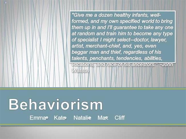 a description of behaviorism Defining, discussing, and analyzing how behaviorism impacts learning as well as teacher-student relationships.