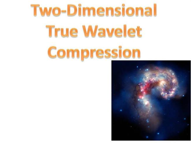 thesis on image compression using wavelet transform Gabor wavelet transform and  suitable for applications such as image compression,  the magnitude of the gabor transform of 𝜑  this 1-d gabor function could.