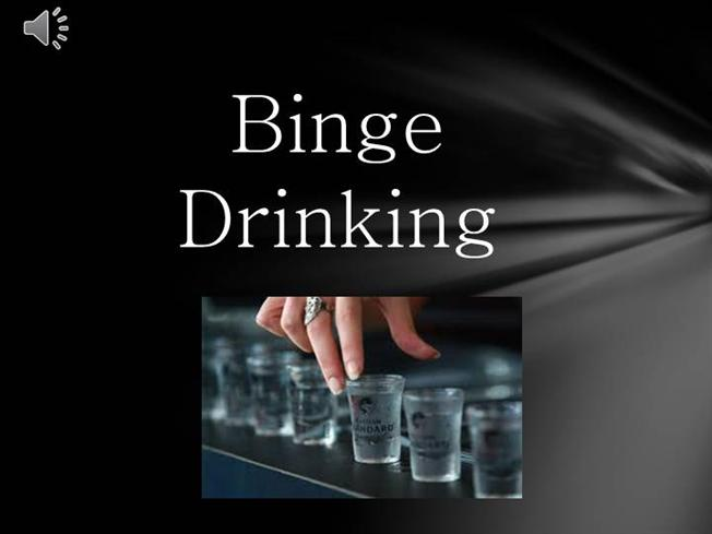 binge drinking and you essay