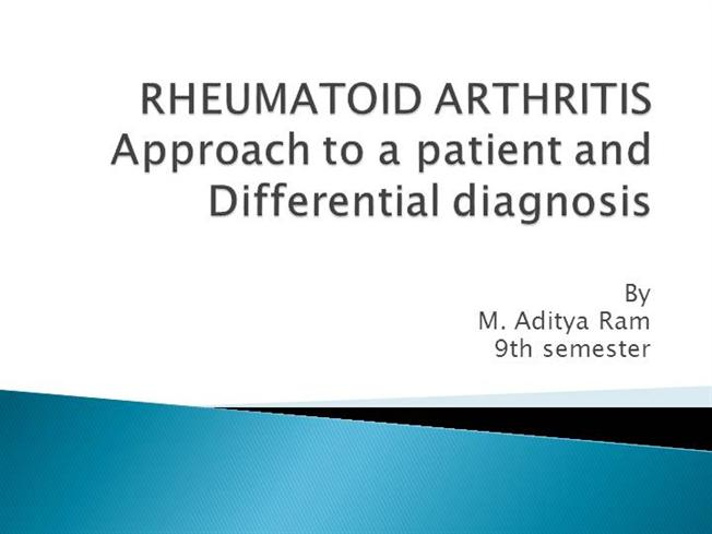 Rheumatoid Arthritis Differential Diagnosis