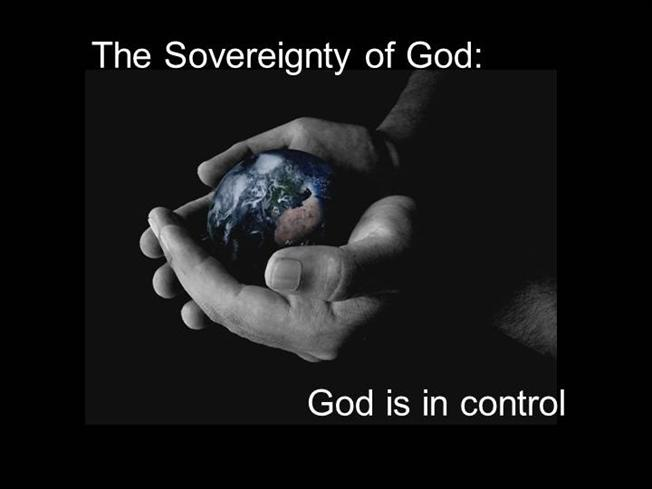 Bottom Line  Sovereign God
