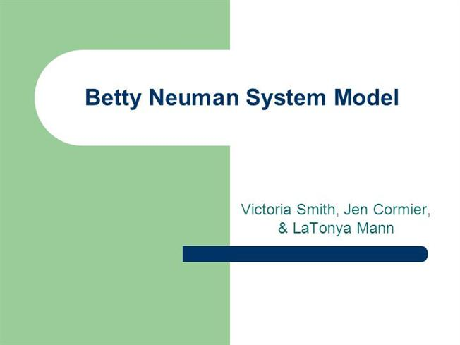 limitation of betty neuman theory