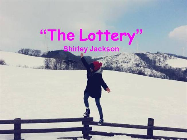 Essay analysis of the lottery by shirley jackson : Through the tunnel ...