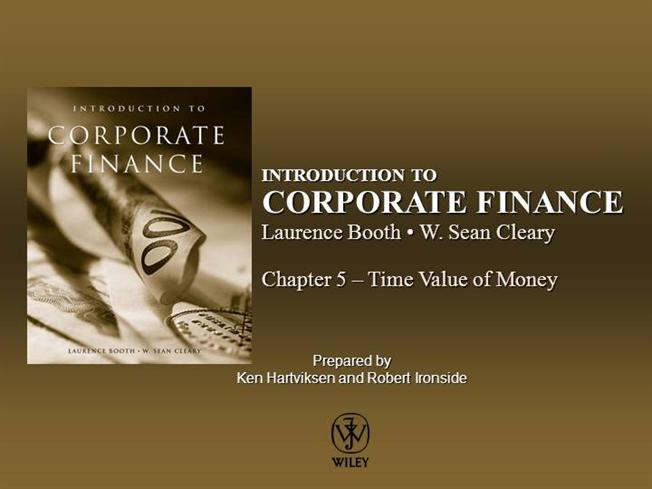 introduction to corporate finance booth cleary pdf