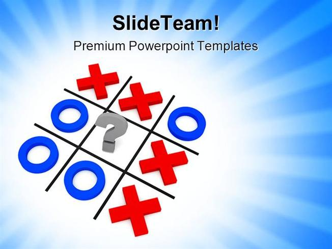 Tic Tac Toe Powerpoint Template