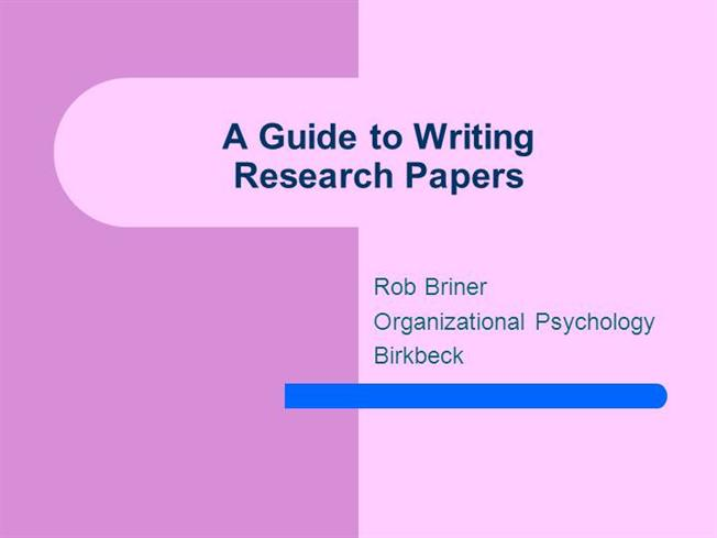 a guide to creating historical research papers Writing with historical research and analysis creating a paper for history day is similar to other research papers you have written and generally falls into  student guide for more information on research and note taking 2 organization of information.