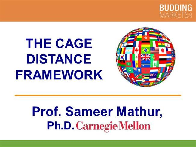 the cage distance framework and its The cage distance framework proposes that there are major important differences between countries divided by national borders in practice, firms recognise this by trading less with firms who are significantly distant from them in cultural, administrative, geographical and economic terms.