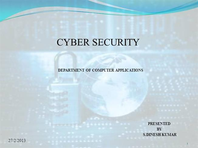 Cyber Security |authorSTREAM