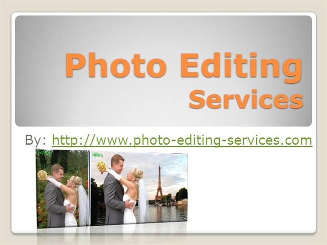 Affordable editing services